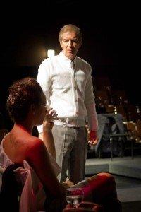 """O ator Alaôr Rosa, em """"O Silêncio"""", um de seus trabalhos mais recentes"""