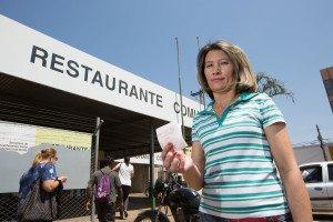 Vendedora Maria Soares. Pauta: Restaurantes comunitários. Foto: Michael Melo/Metrópoles