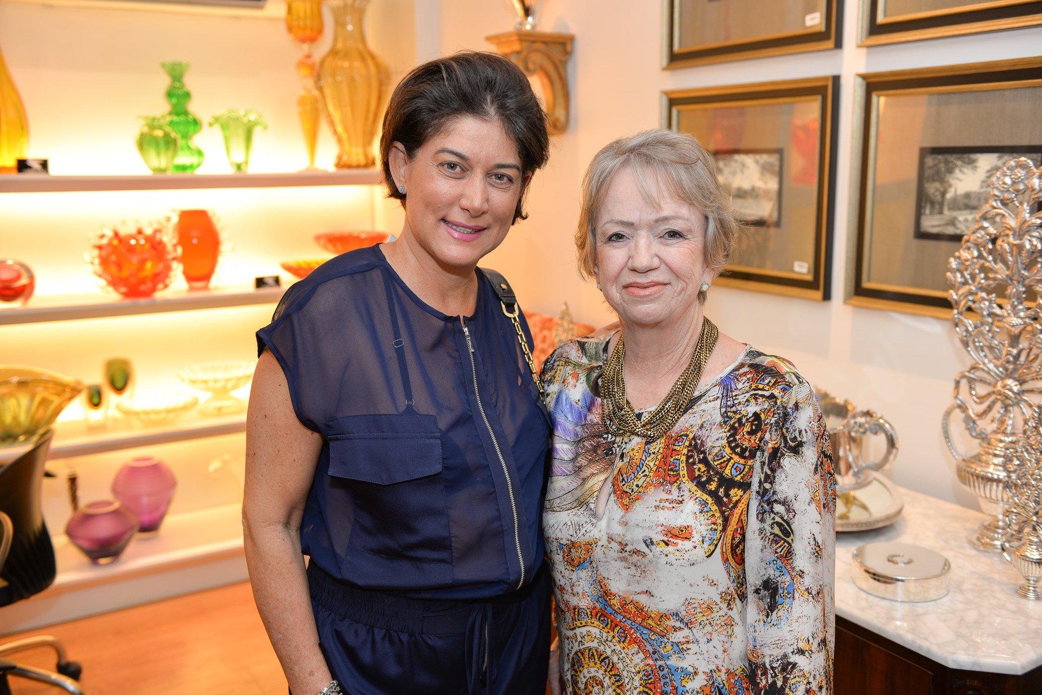 A arquiteta Bárbara Paiva e a empresária Liane Michels