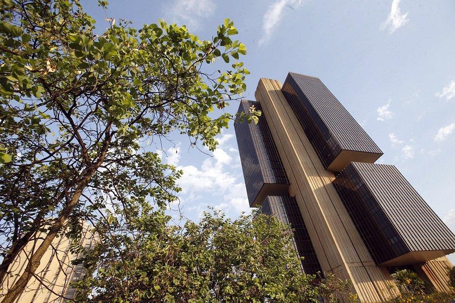 Brasil, Brasília, DF, 14/10/2014. Retrato do edifício sede do Banco Central, em Brasília (DF).