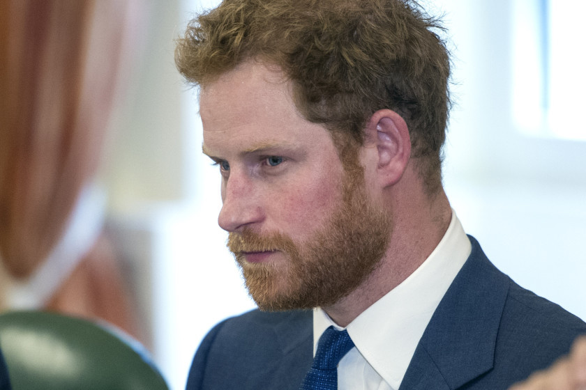 WASHINGTON, DC - OCTOBER 28: Prince Harry attends an Invictus Board meeting at the British Ambassador's Residence on October 28, 2015 in Washington DC. (Photo by Cliff Owen-Pool/Getty Images)