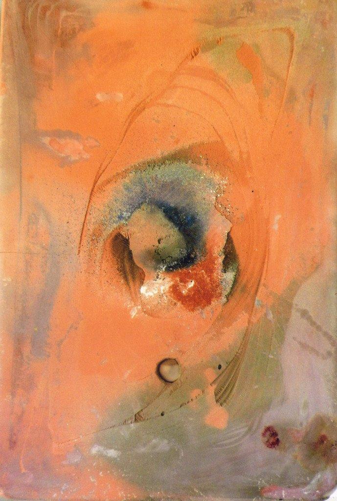 """""""Placa Maciça"""" (2012): encáustica de Marlene Godoy *Reprodução*"""