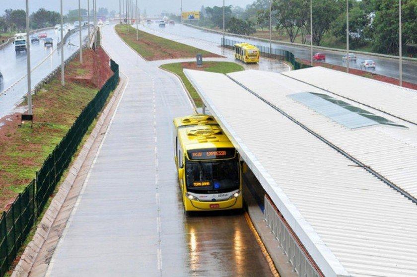 ônibus BRT-Sul