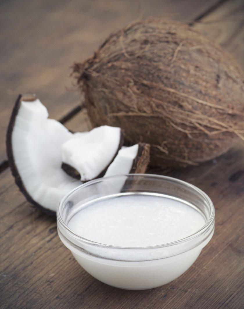 Óleo de coco alimentação bem-estar nutrição