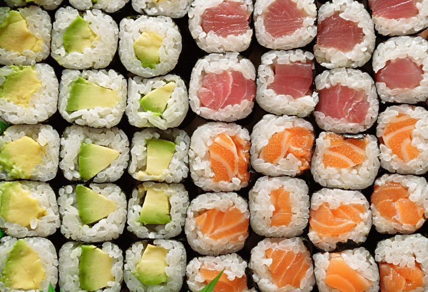 sushi gastronomia