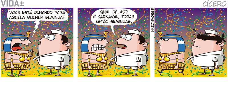 Resultado de imagem para tirinhas de carnaval