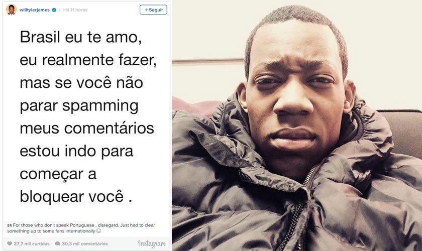 Ator De Todo Mundo Odeia O Chris Ameaça Bloquear Fãs Brasileiros