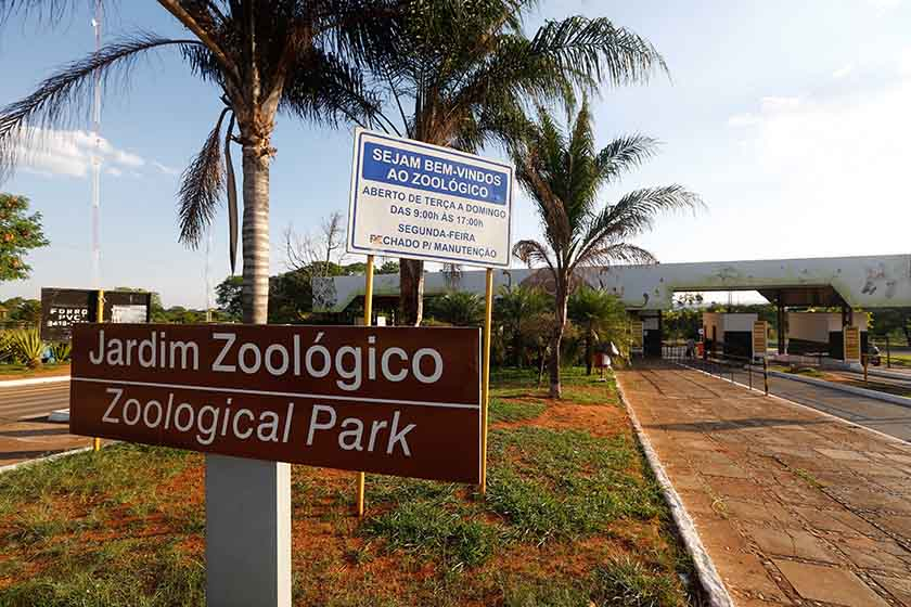 Jardim Zoológico de Brasília - Brasília - DF 10/11/2015
