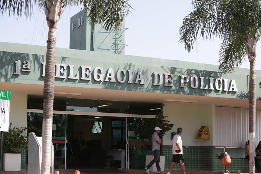 fachada da delegacia da Asa Sul