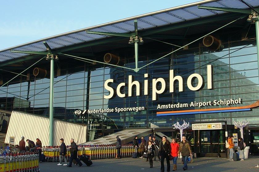 Resultado de imagem para Aeroporto de Amsterdã