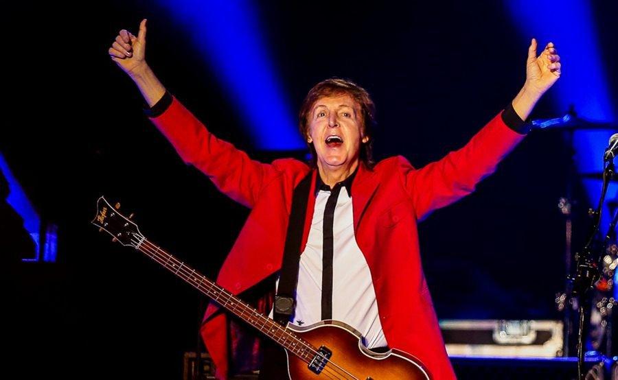 Paul McCartney em show no Estádio Nacional Mané Garrincha (Brasília)