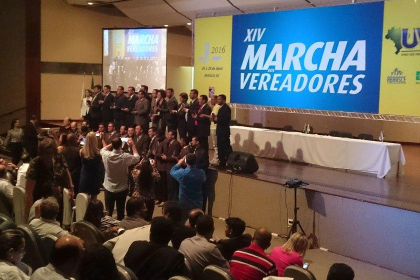 XIV Marcha dos Vereadores em Brasília - Brasília - DF 27/04/2016