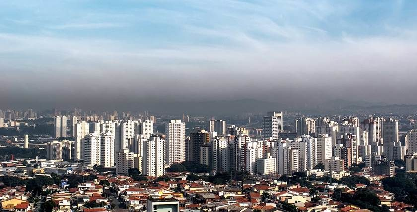 Nível de CO2 na atmosfera se eleva