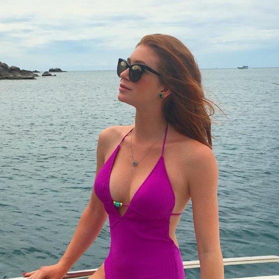 Marina Ruy Barbosa fatura R$ 1 milhão com posts pagos em viagem