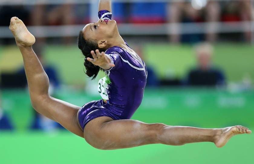 Novatas do Brasil se destacam na ginástica