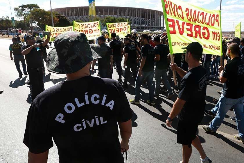 Policiais civis do DF fazem greve de 72 horas | Veja os dias!