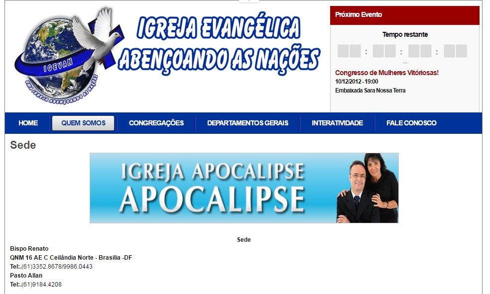 ecc1b32a449 Bastidores da Operação Drácon  do grego durão à Igreja do Apocalipse