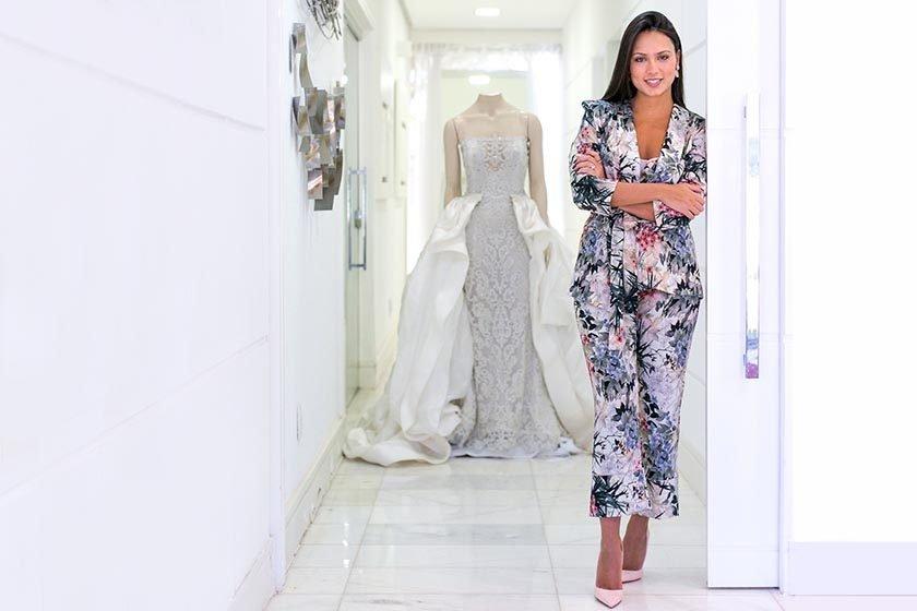 2294029992c Amanda Guerra vai lançar sua primeira coleção de vestidos de noivas