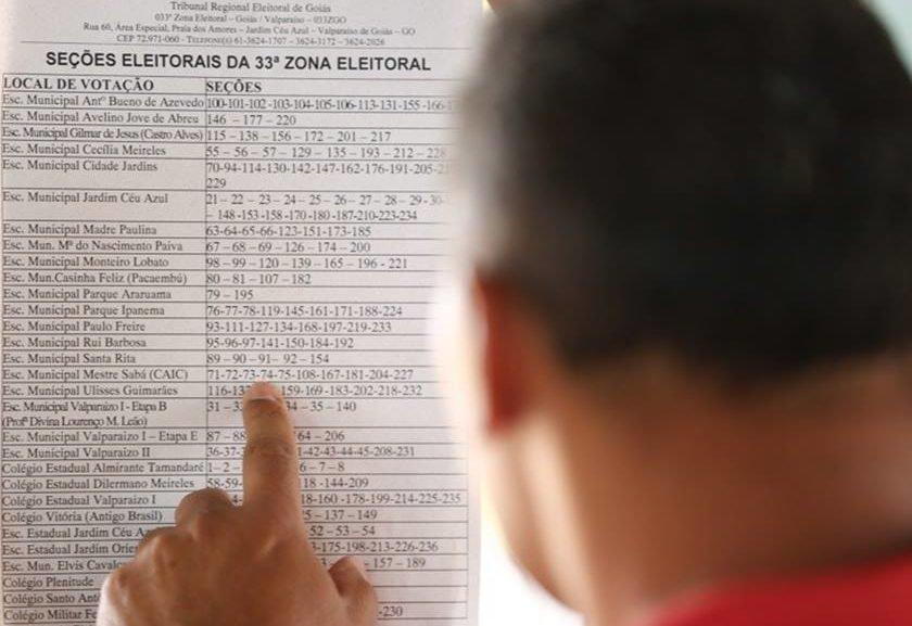 entorno votação