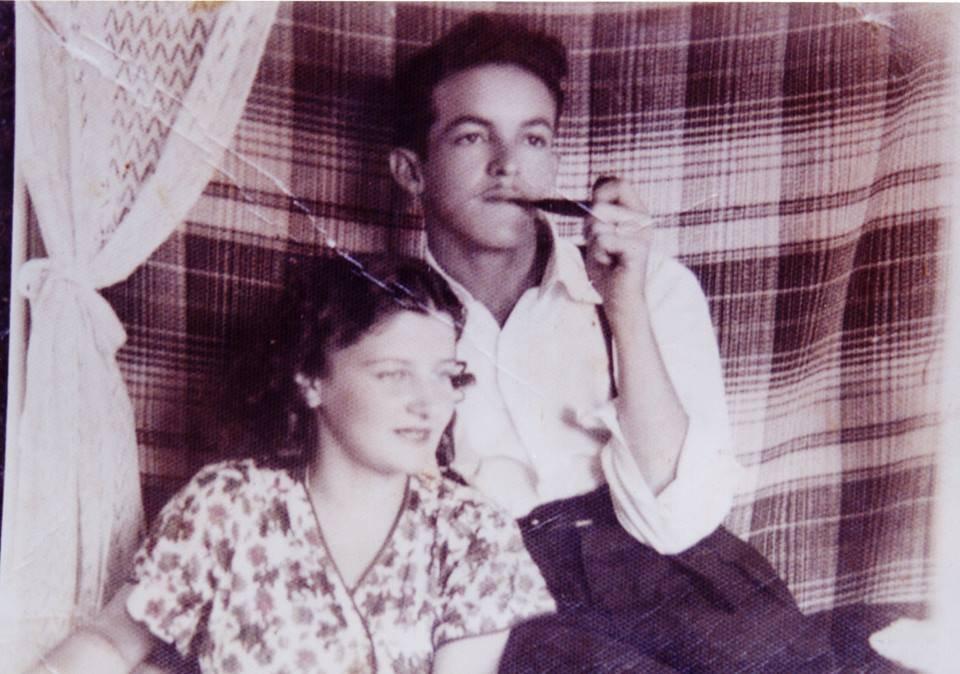 Dona Rosa e seu Monteiro: pais de Honestino