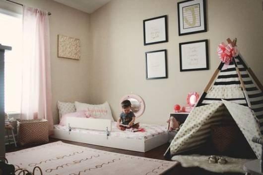 e0865f36ce Como montar um quarto montessoriano para o seu bebê