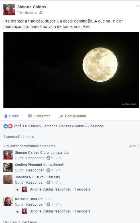 Facebook/Simone Caldas