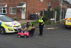 Divulgação/ Cheshire Police