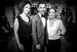 Debora Morais, Cesar Serra e Maria Virginia