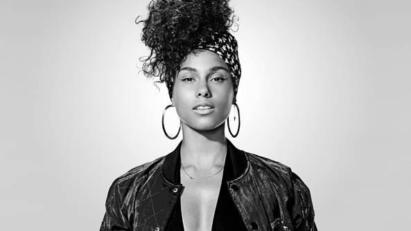 Alicia Keys também faz shows
