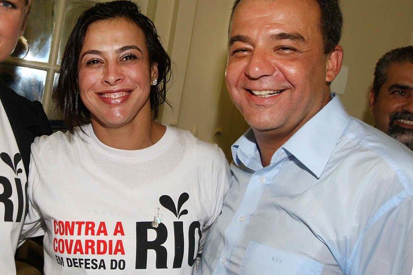Mulher de Cabral vai para prisão domiciliar