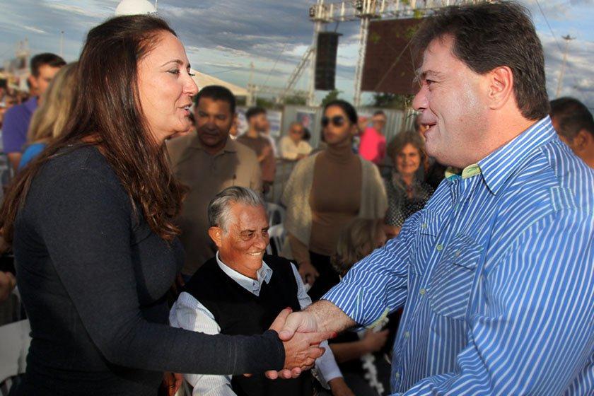 Liliane Roriz, Joaquim Roriz e Gim Argello