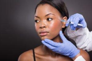 botox agulha cirurgia plástica