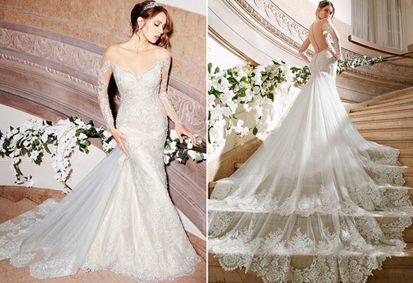 Best 25 Simple Wedding Gowns Ideas On Pinterest: Veja Os Vestidos De Noiva Mais Curtidos No Pinterest Em 2016