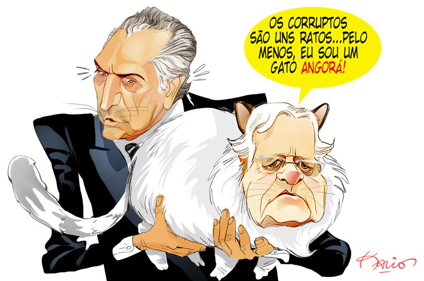 Moreira Franco, o gato angorá