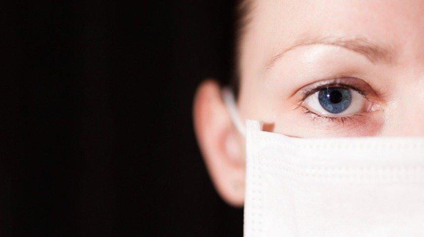 Máscara em médica