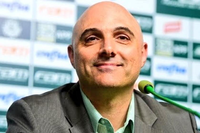 Maurício Galiotte em entrevista coletiva