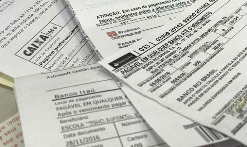 Boletos bancários poderão ser pagos em qualquer agência após o vencimento