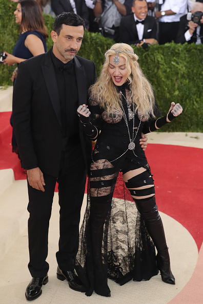 Madonna e Ricardo Tisci