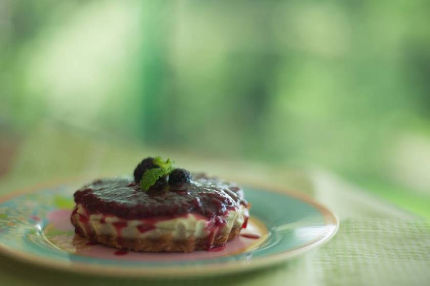 Quintal f508 Cheesecake vegano