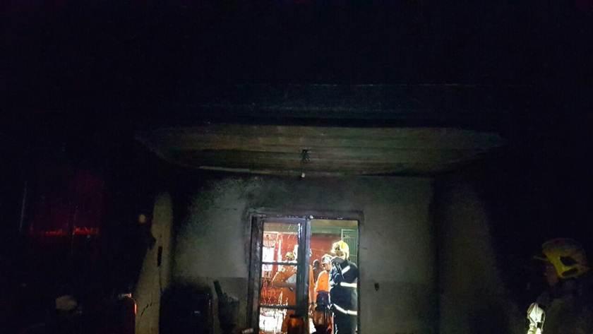 incêndio em casa de Sobradinho II