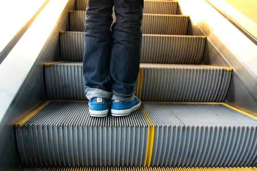 Resultado de imagem para escada rolante