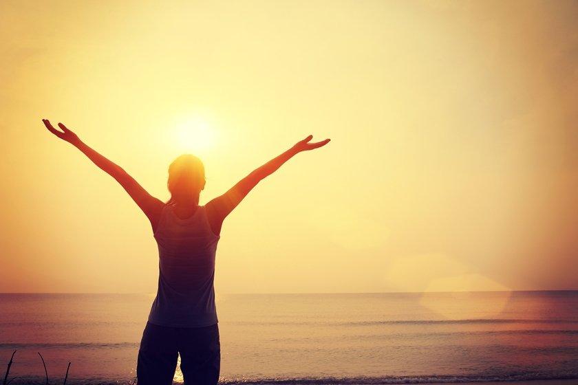 Gratidão por do sol agradecer