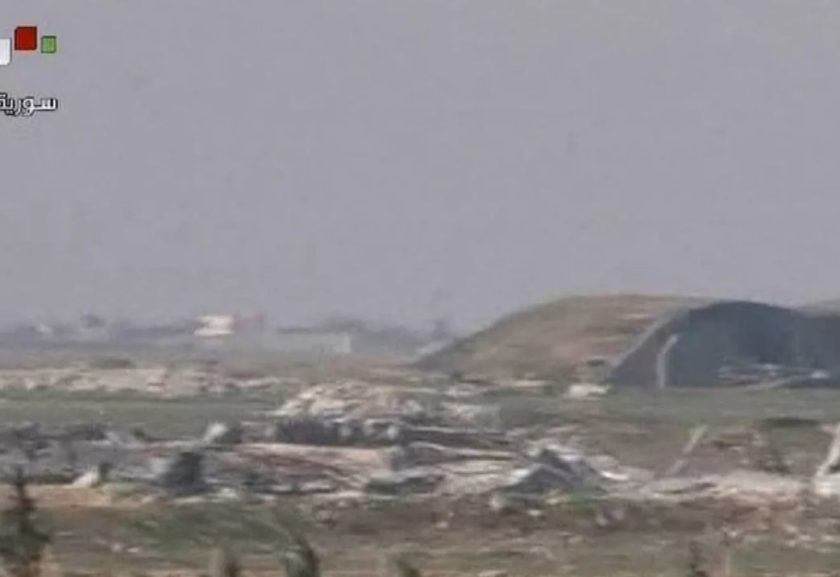 Reprodução/TV Síria