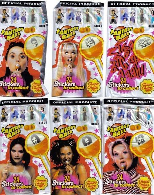 lollipop spice girls
