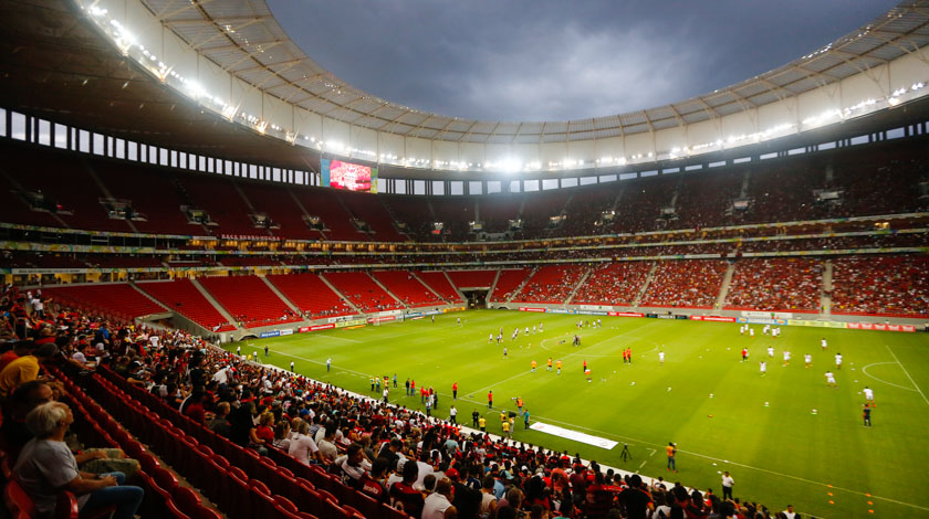 obra superfaturada estadio brasilia