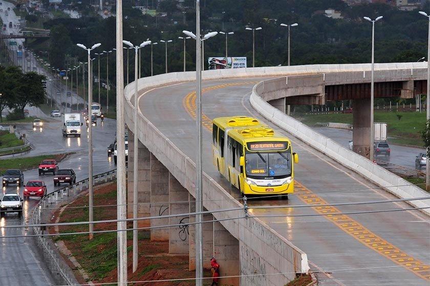 Operação Panatenaico investiga fraudes nas obras do BRT de Brasília