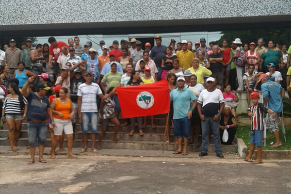 MST invade fazenda em Alto Paraíso, no noroeste do Paraná
