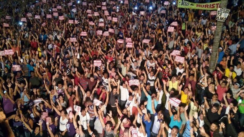 Vigilantes suspendem greve após 12 dias