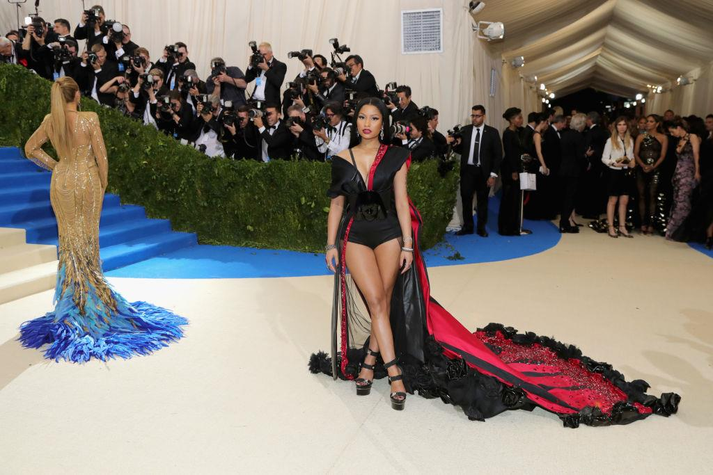 "Nicki Minaj  ""Rei Kawakubo/Comme des Garcons: Art Of The In-Between"" Costume Institute Gala - Arrivals"