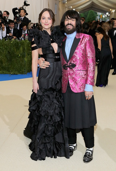 Dakota Johnson e Alessandro Michele